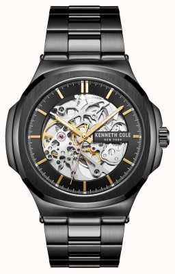 Kenneth Cole Automatic | Black Dial | Black Stainless Steel Bracelet KC51017007