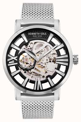 Kenneth Cole Automatic | Black Dial | Stainless Steel Mesh KC51018023A