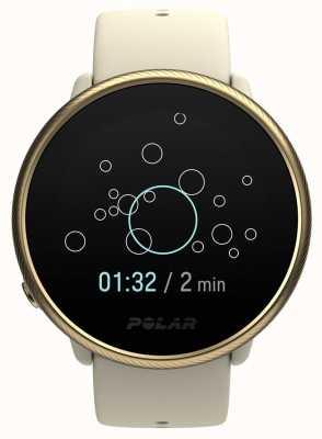 Polar Ignite 2 | Gold & Champagne | Activity and HR Tracker | Champagne Silicone | S/L 90085185