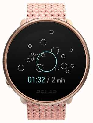 Polar Ignite 2 | Pink & Rose | Activity and HR Tracker | Pink Fabric Strap | S/M 90085186