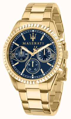Maserati Competizione Gents Yellow-Gold Watch R8853100026