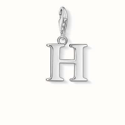 Thomas Sabo H Charm 925 Sterling Silver 0182-001-12