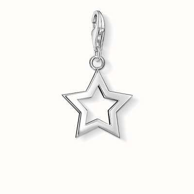 Thomas Sabo Star Charm 925 Sterling Silver 0857-001-12