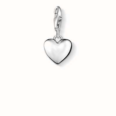 Thomas Sabo Heart Charm 925 Sterling Silver 0913-001-12