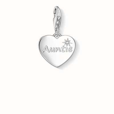 Thomas Sabo Auntie Charm White 925 Sterling Silver/ Zirconia 1271-051-14