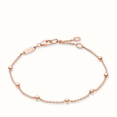 Thomas Sabo Bracelet 16.5/18/19.5cm 925 Sterling Silver Gold Plated Rose Gold A1328-415-12-L19,5v