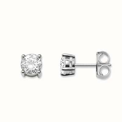 Thomas Sabo Earstuds White 925 Sterling Silver/ Zirconia H1739-051-14