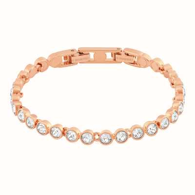 Swarovski Tennis | Rose-Gold Plated | White | Ladies Bracelet 5039938