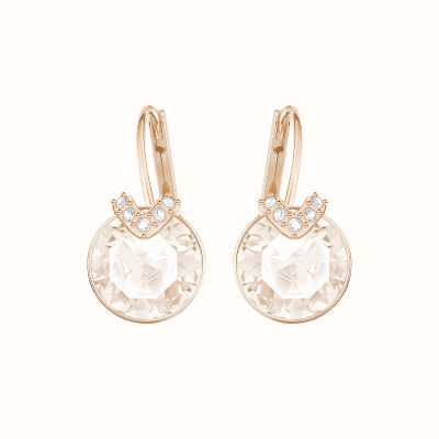 Swarovski Bella V | Rose-Gold Plated | Pink | Drop Earrings 5299318