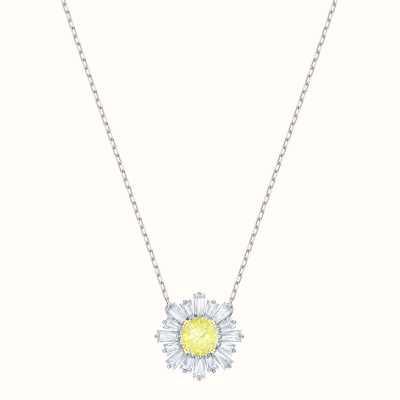 Swarovski Sunshine | Rhodium Plated | Yellow | Necklace 5459588