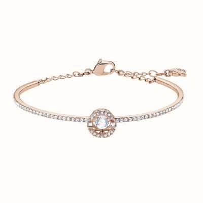 Swarovski Sparkling Dance |Rose-Gold Plated | White |Circle | Bangle 5497483